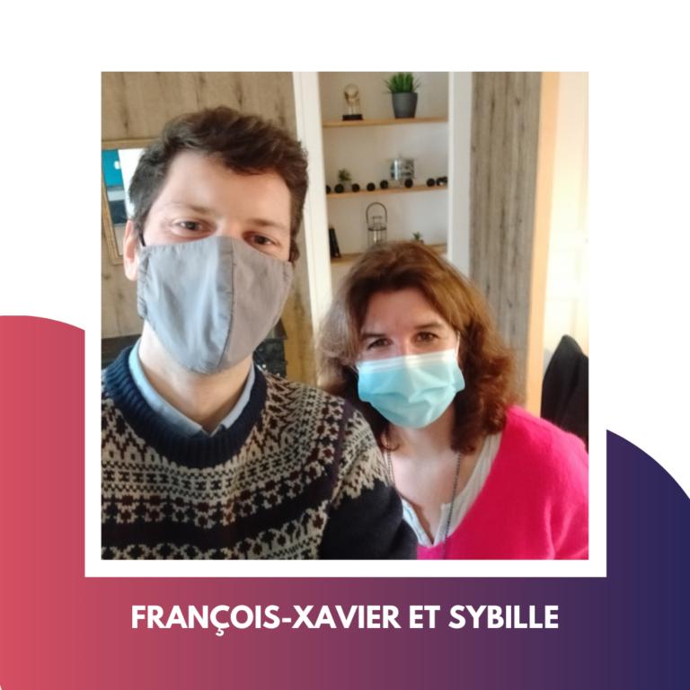 Selfie de François-Xavier et Sybille